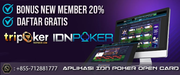 aplikasi idn poker open card