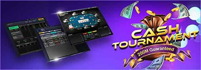 cash tournament idn poker