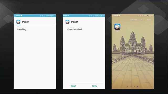 install idnpoker android 3
