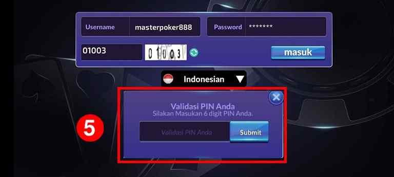 cara login aplikasi idn poker
