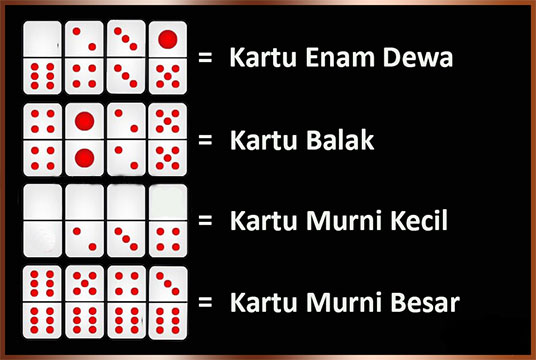kombinasi kartu jackpot domino