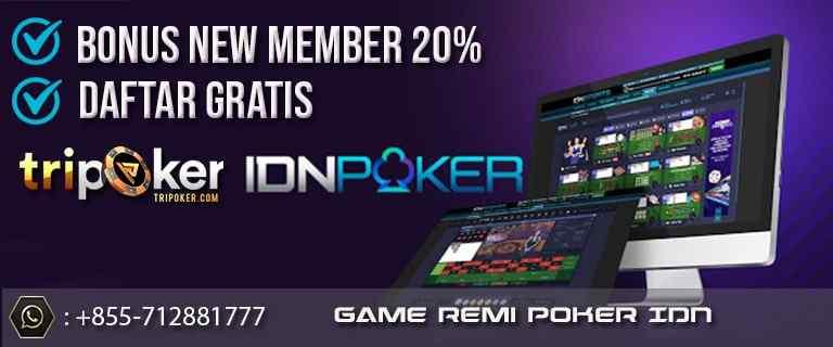 game remi poker idn